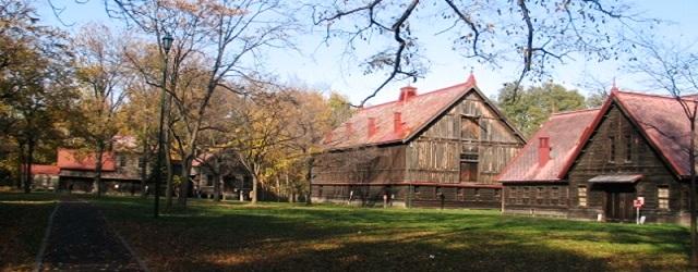 クラーク先生の発想と指導で造成された札幌農学校第二農場(北大キャンパス内に保存)